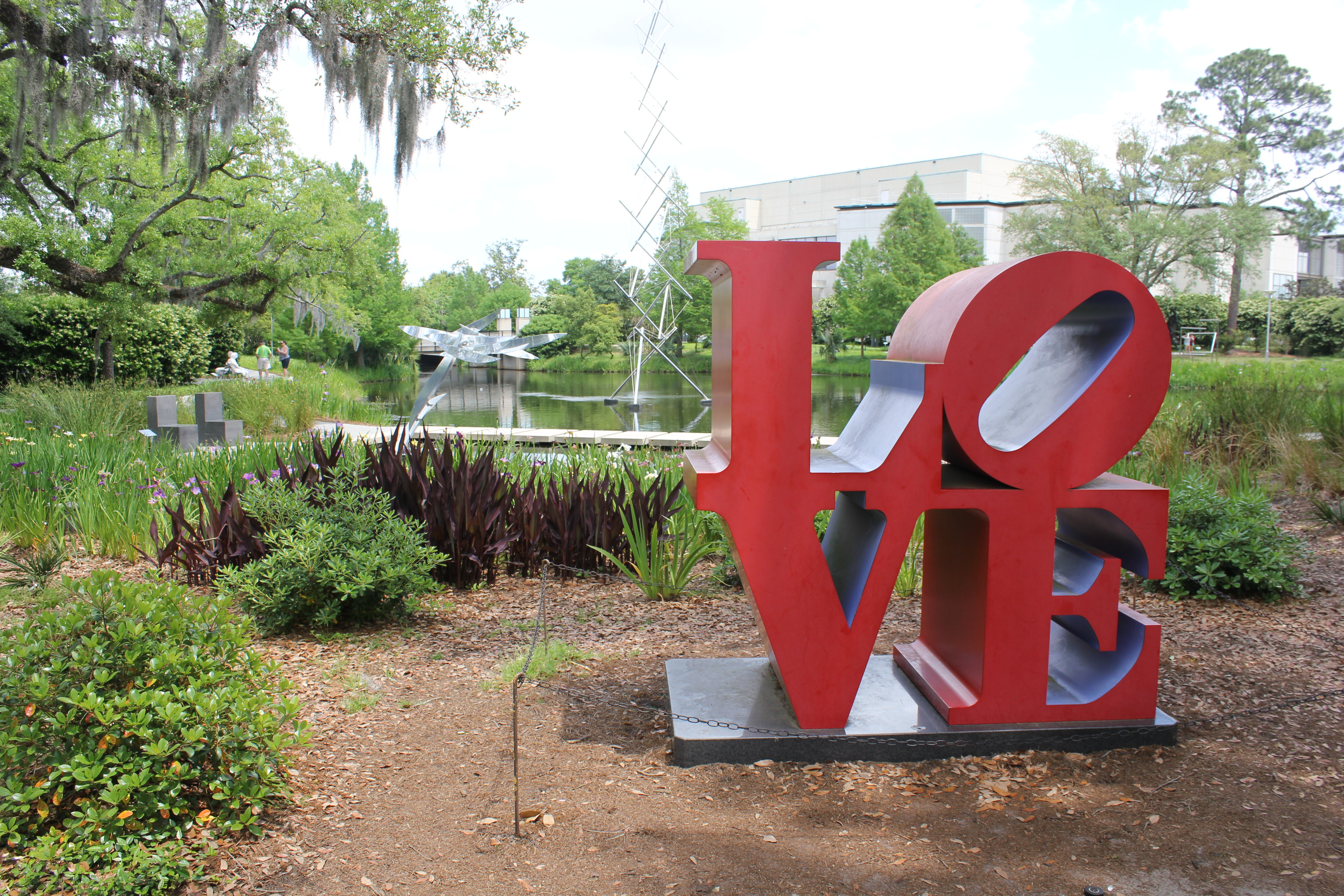 LOVE New Orleans Museum of Art and Sculpture Garden – Baton Rouge 360