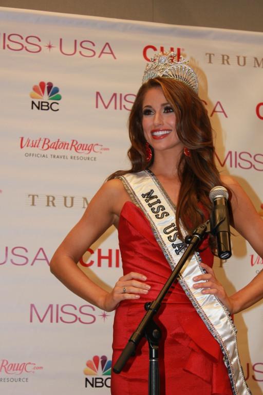Miss USA 2014 - Nia Sanchez - Baton Rouge - 1st Press Conference - BTR360.COM - Kevin Woolsey Photo (1)