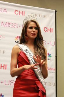 Miss USA 2014 - Nia Sanchez - Baton Rouge - 1st Press Conference - BTR360.COM - Kevin Woolsey Photo (15)