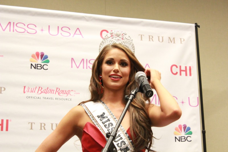 Miss USA 2014 - Nia Sanchez - Baton Rouge - 1st Press Conference - BTR360.COM - Kevin Woolsey Photo (2)