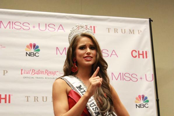 Miss USA 2014 - Nia Sanchez - Baton Rouge - 1st Press Conference - BTR360.COM - Kevin Woolsey Photo (22)