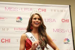 Miss USA 2014 - Nia Sanchez - Baton Rouge - 1st Press Conference - BTR360.COM - Kevin Woolsey Photo (23)