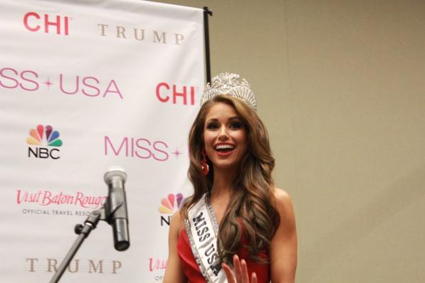 Miss USA 2014 - Nia Sanchez - Baton Rouge - 1st Press Conference - BTR360.COM - Kevin Woolsey Photo (27)