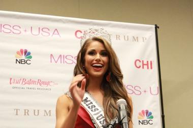 Miss USA 2014 - Nia Sanchez - Baton Rouge - 1st Press Conference - BTR360.COM - Kevin Woolsey Photo (30)