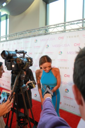 Miss USA Donald J Trump CHI Celebrity Red Carpet Visit Baton Rouge 360 Miss Universe Organization MUO Photo Kevin Woolsey (103)