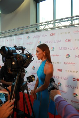 Miss USA Donald J Trump CHI Celebrity Red Carpet Visit Baton Rouge 360 Miss Universe Organization MUO Photo Kevin Woolsey (106)