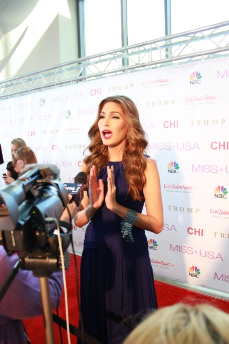 Miss USA Donald J Trump CHI Celebrity Red Carpet Visit Baton Rouge 360 Miss Universe Organization MUO Photo Kevin Woolsey (296)