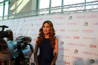 Miss USA Donald J Trump CHI Celebrity Red Carpet Visit Baton Rouge 360 Miss Universe Organization MUO Photo Kevin Woolsey (310)