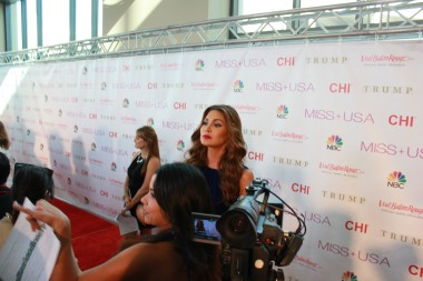 Miss USA Donald J Trump CHI Celebrity Red Carpet Visit Baton Rouge 360 Miss Universe Organization MUO Photo Kevin Woolsey (319)
