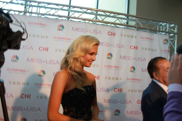 Miss USA Donald J Trump CHI Celebrity Red Carpet Visit Baton Rouge 360 Miss Universe Organization MUO Photo Kevin Woolsey (369)