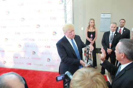 Miss USA Donald J Trump CHI Celebrity Red Carpet Visit Baton Rouge 360 Miss Universe Organization MUO Photo Kevin Woolsey (401)
