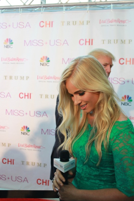 Miss USA Donald J Trump CHI Celebrity Red Carpet Visit Baton Rouge 360 Miss Universe Organization MUO Photo Kevin Woolsey (402)