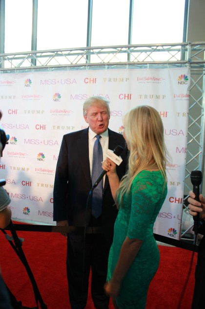 Miss USA Donald J Trump CHI Celebrity Red Carpet Visit Baton Rouge 360 Miss Universe Organization MUO Photo Kevin Woolsey (404)