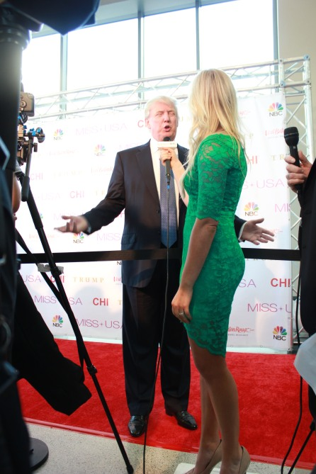 Miss USA Donald J Trump CHI Celebrity Red Carpet Visit Baton Rouge 360 Miss Universe Organization MUO Photo Kevin Woolsey (412)