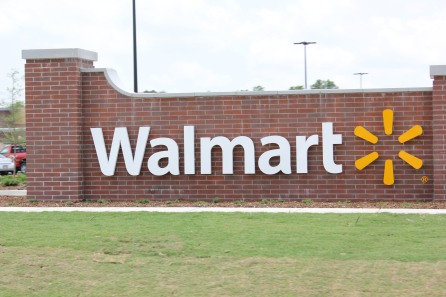 Walmart Sign, Baton Rouge
