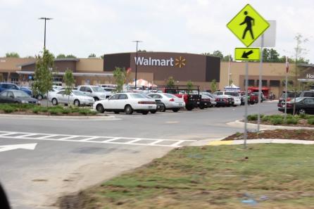Cars at Walmart Opening