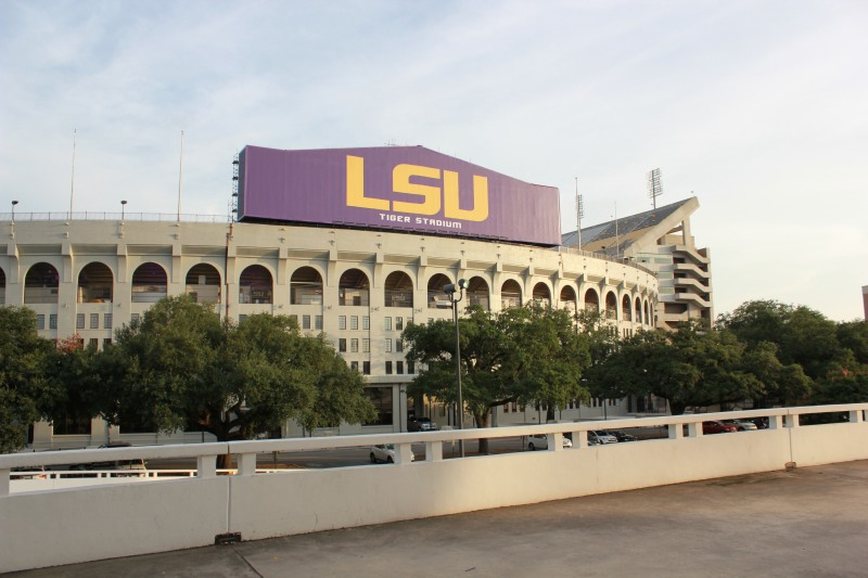 Fun Facts about LSU - Louisian State University - Baton Rouge 360 - BTR360.com - Photo Credit Kevin Woolsey