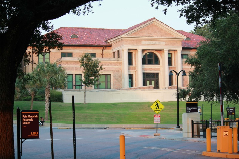 LSU Journalism Building