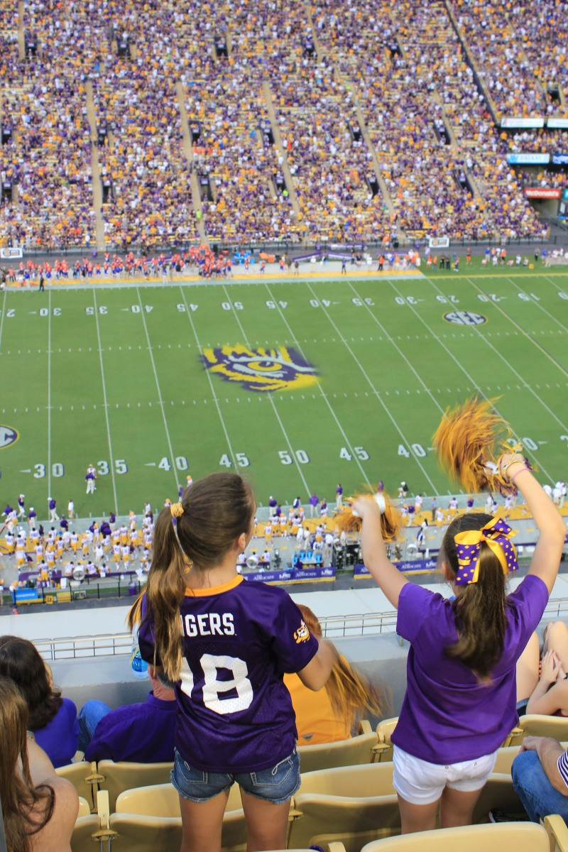 LSU vs Alabama Baton Rouge Events Saturday