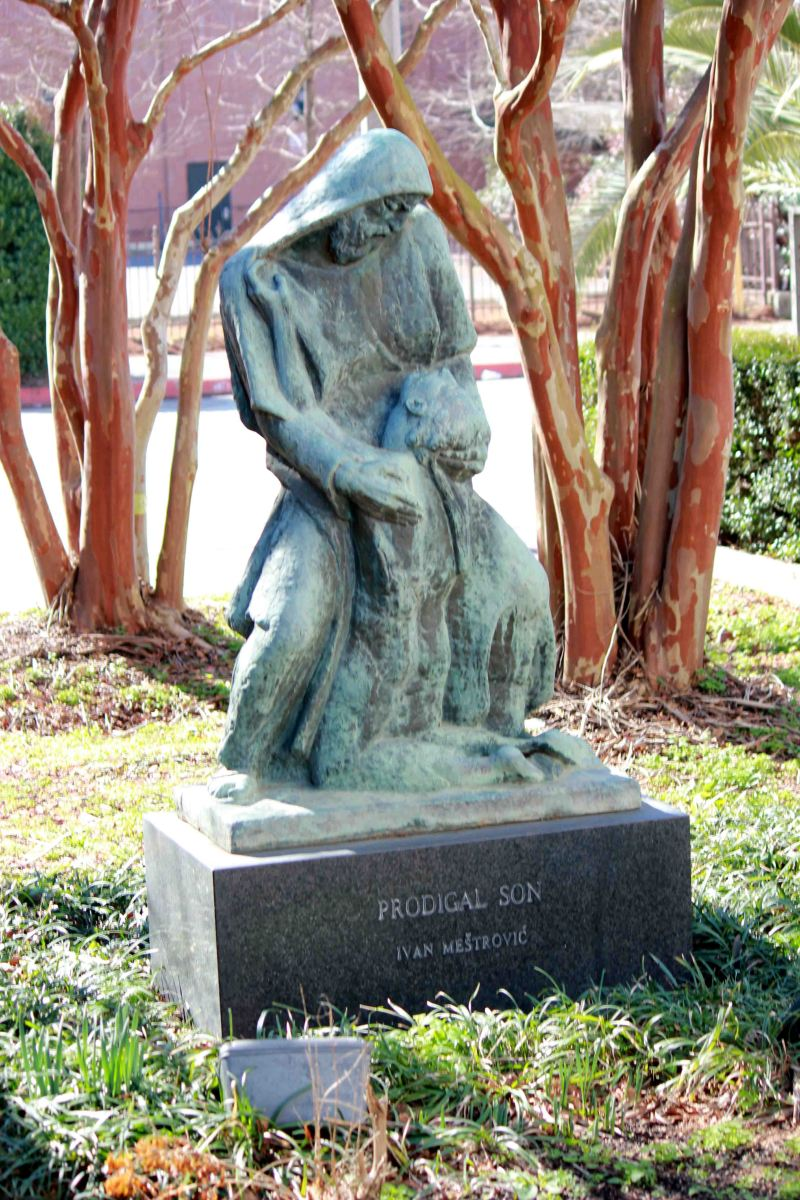 Prodigal Son Sculpture - Ivan Mestrovic - Kevin Woolsey Photography 2 7 2015