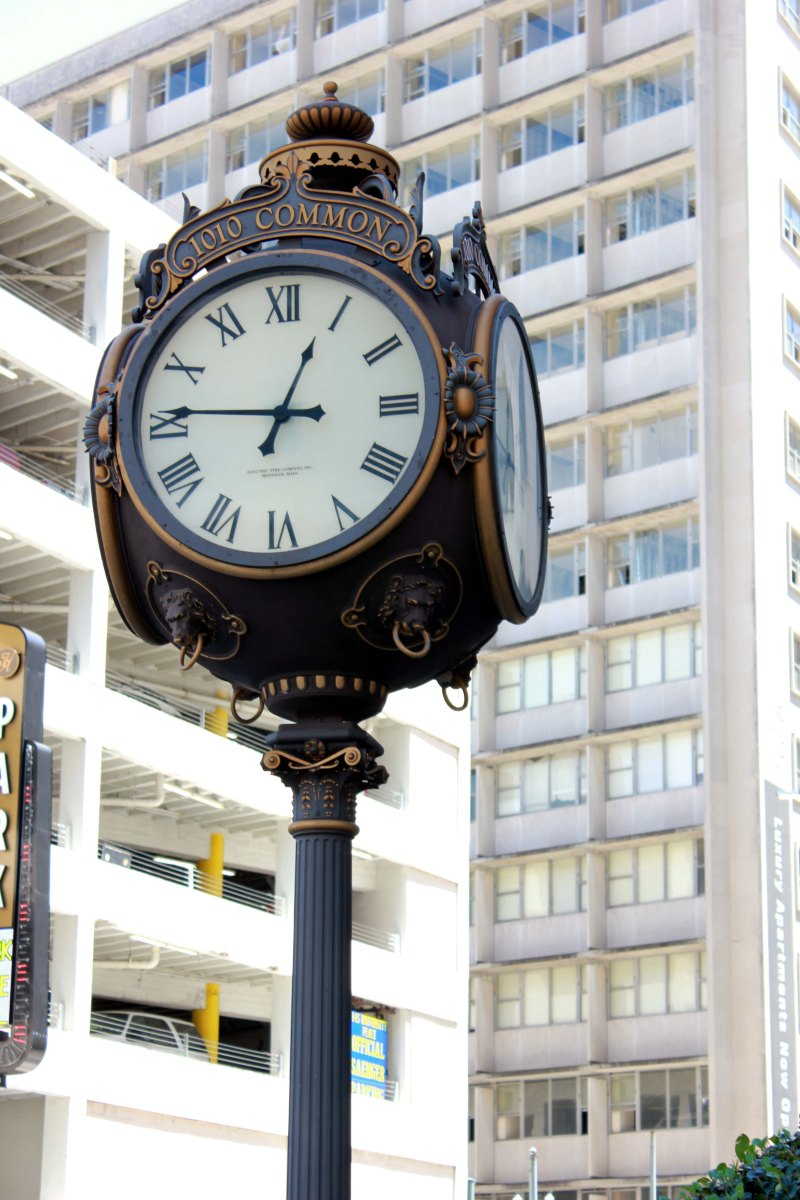1010 Common Street Clock New Orleans Louisiana Picture