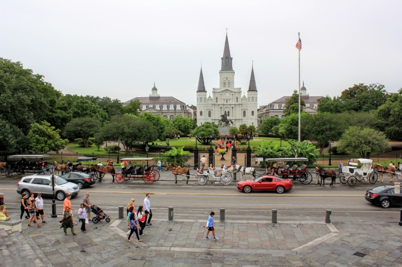 New Orleans French Quarter Jackson Square Photo by Kevin Woolsey Photography