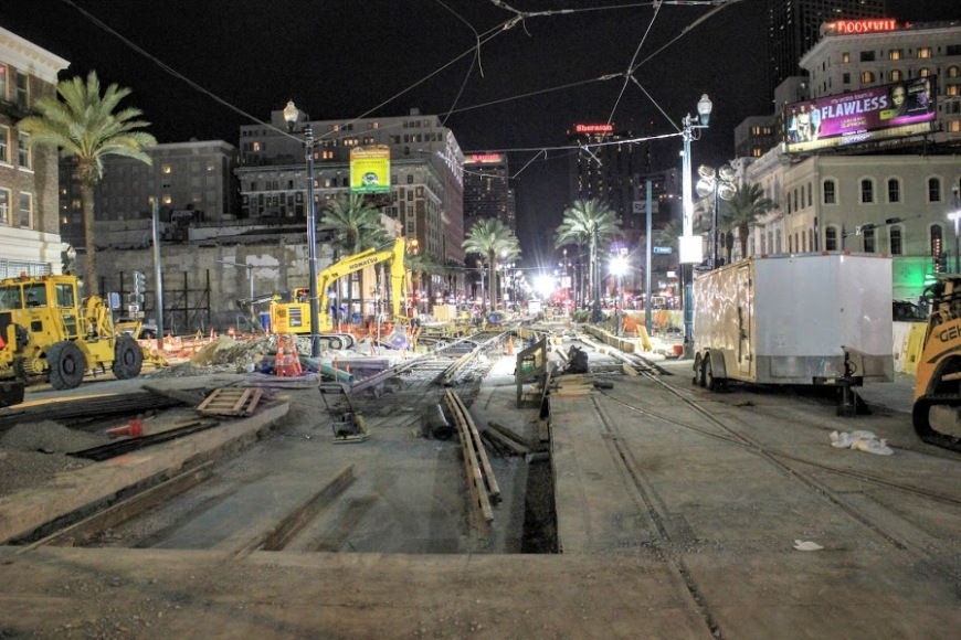 New Orleans North Rampart at Canal Street Expansion Project RTA