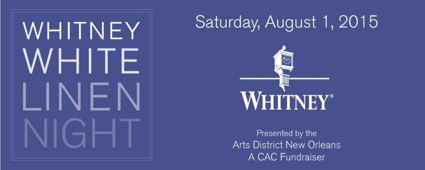 Whitney White Linen Night 2015 Arts District New Orleans