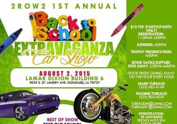 Back to School Car Show Lamar Dixon Expo Center