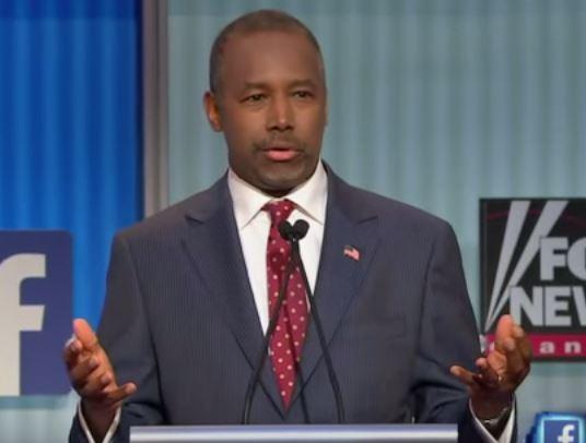 Dr Ben Carson Presidential Candidate GOP Debate Fox News