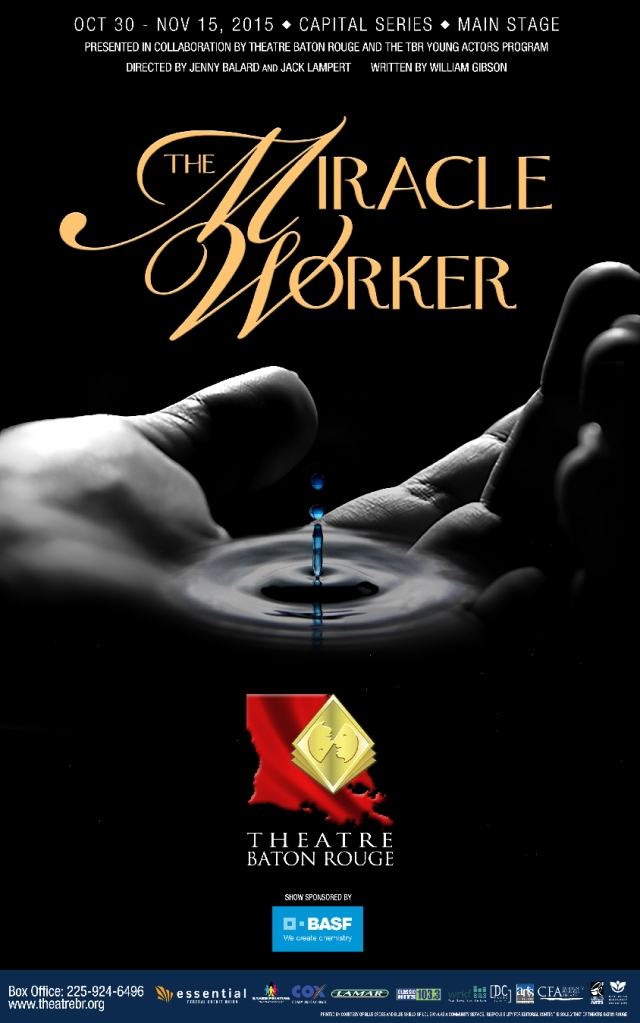 Theatre Baton Rouge The Miracle Worker Performance