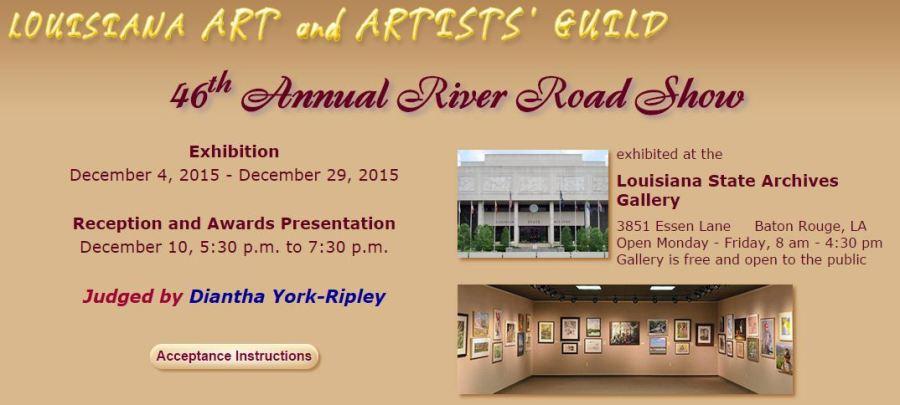 46th Annual River Road Show - Baton Rouge Art